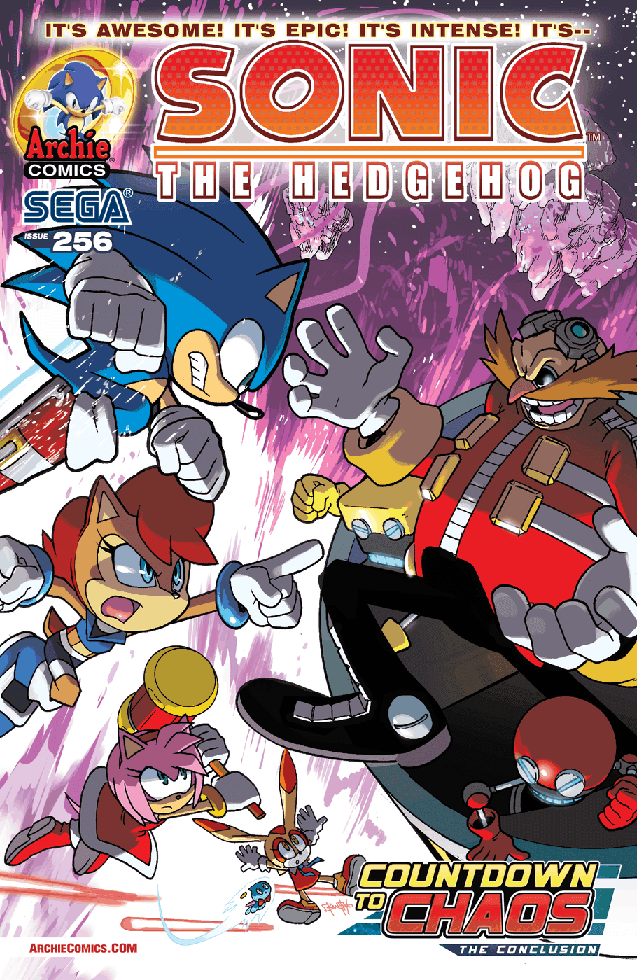 Hedgehogs Can T Swim Sonic The Hedgehog Issue 256