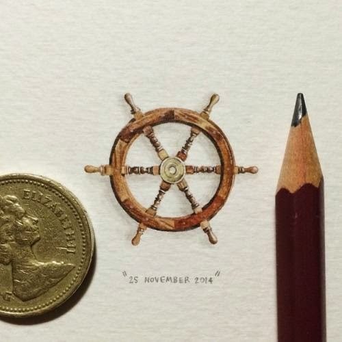 28-The-Ships-Helm-Lorraine-Loots-Miniature-Paintings-Commemorating-Special-Occasions-www-designstack-co
