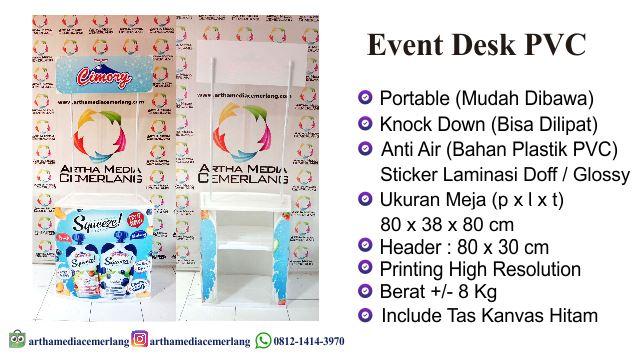 Spesifikasi Event Desk