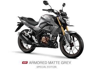 Verza CB150 Terbaru 2021 Armored Matte Grey Special Edition