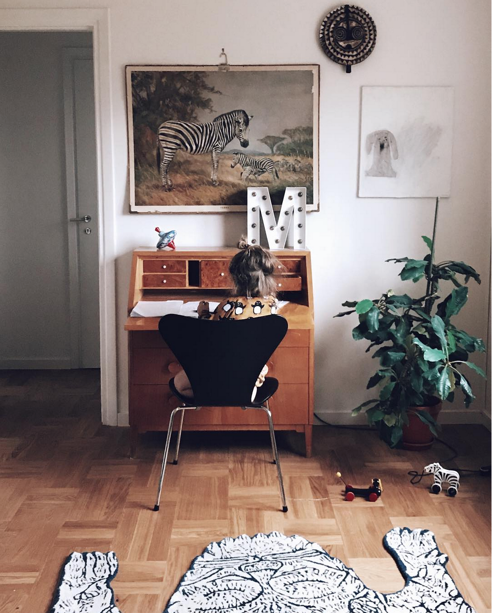 Inside A Relaxed Swedish House From The 50's