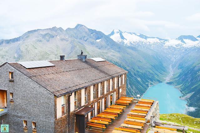 Olpererhütte en Zillertal, Austria