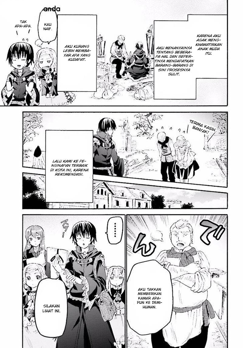 Manga Death March Chapter 34 Bahasa Indonesia