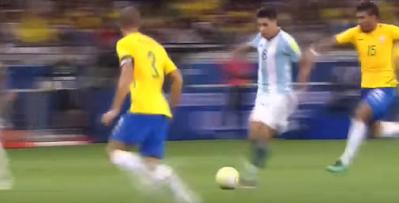 إنزو بيريز لاعب ريفر بليت ومنتخب الأرجنتين