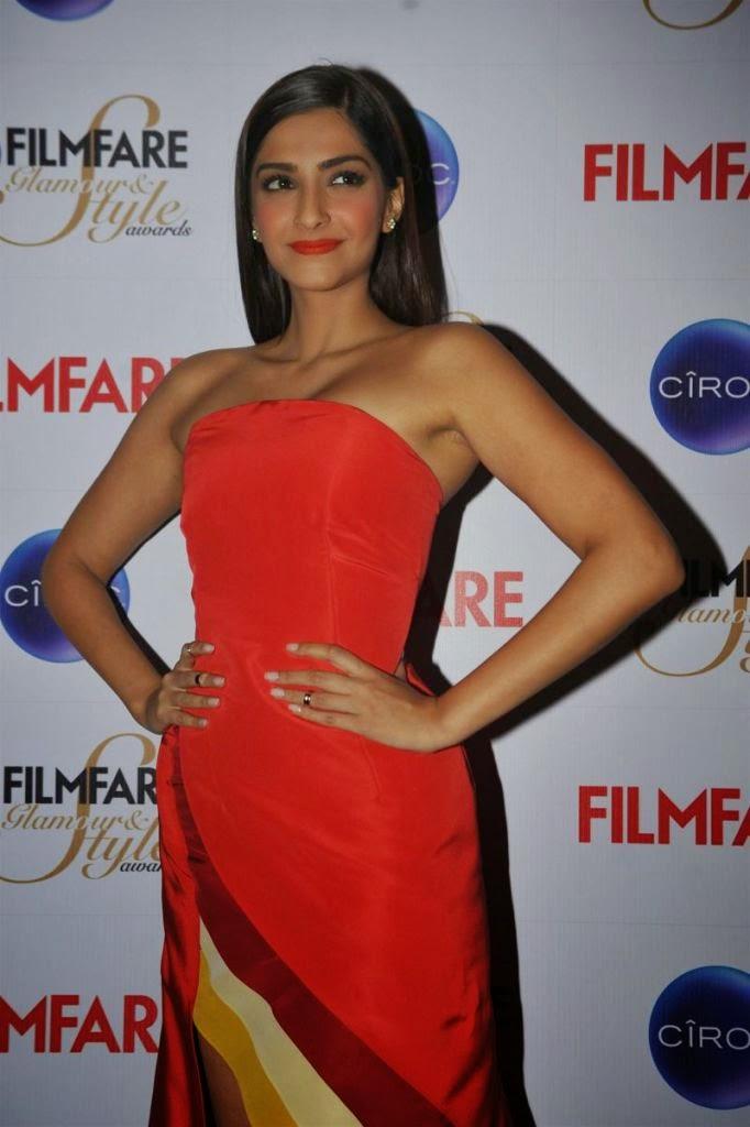 Sonam Kapoor Stills At Filmfare Glamour N Style Awards Press Conference  Indian Girls Villa -6024