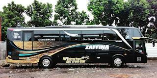 Sewa Bus Pariwisata Zaffina SHD 2019