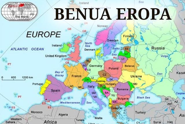 Benua Eropa: Karakteristik, Letak, Luas, Nama Negara Iklim, Dinamika, Agama, Ras, dan Ekonomi