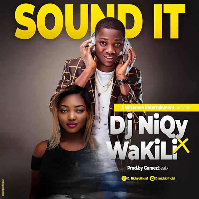 Dj NiQY X Wakili-Sound it(Prod by Gomezbeatx)