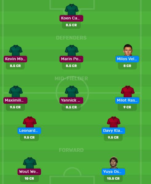 Bundesliga 2019/20: WER vs WOL Dream11 and My11Circle Fantasy Football Team