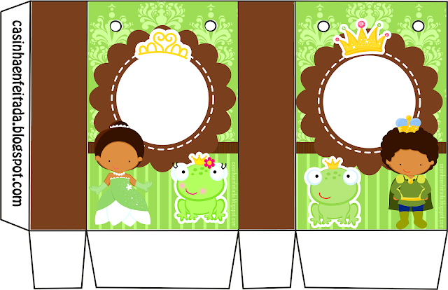 Kit para Fiesta de la Princesa Tiana.