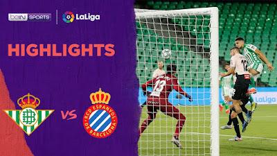 Video Real Betis 1-0 Espanyol: Vòng 31, VĐQG Tây Ban Nha