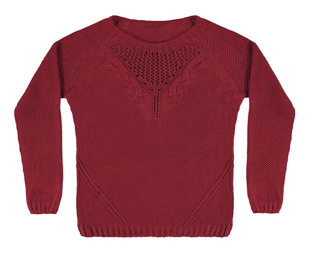 Lunender - tricot vermelho - R$152,99