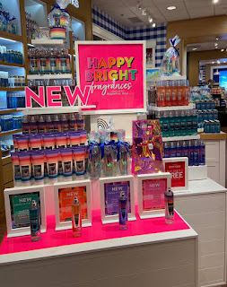 Bath & Body Works | Rainbow Body Care Collection | Store Photos | January 20, 2020