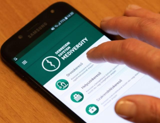 Angol nyelven is elérhető egészségügyi applikáció a Debreceni Egyetemen