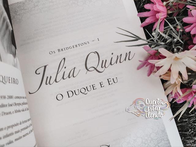 Resenha: O Duque e Eu - Julia Quinn