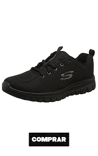 Zapatillas negras para Mujer, Skechers Graceful-Get Connected