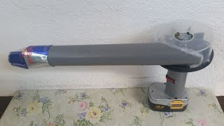How to Make a Powerful Air Blower using CD and PVC pipes