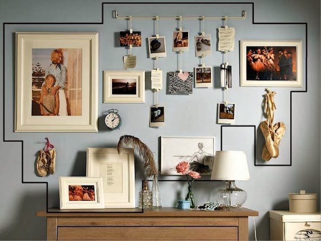 Decorating houses with gallery wall : 18 gallery wall ...