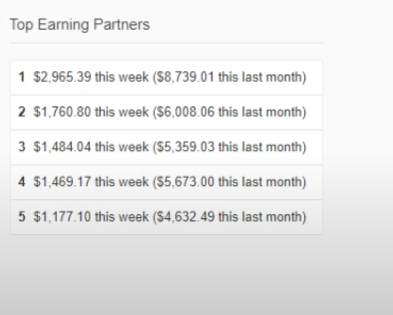 Top Earning Partners on Quora Partner Program