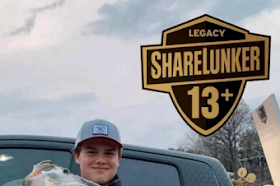 15-year-old angler lands 15.32-pound largemouth bass in Texas lake