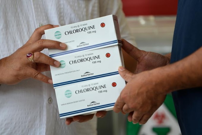 Keracunan Chloroquine, 3 Warga Nigeria Masuk Rumah Sakit