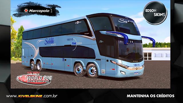 PARADISO G7 1800 DD 8X2 - VIAÇÃO SATÉLITE NORTE
