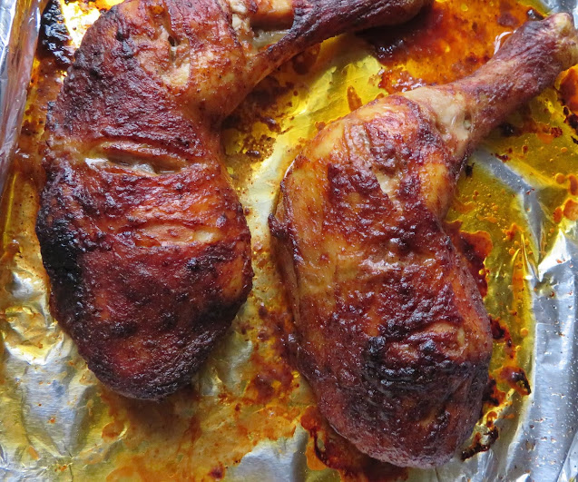 Mustard Baked Chicken