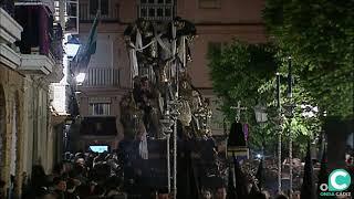 Santísimo Cristo del Descendimiento por la Plaza Candelaria en la Semana Santa Cádiz 2019