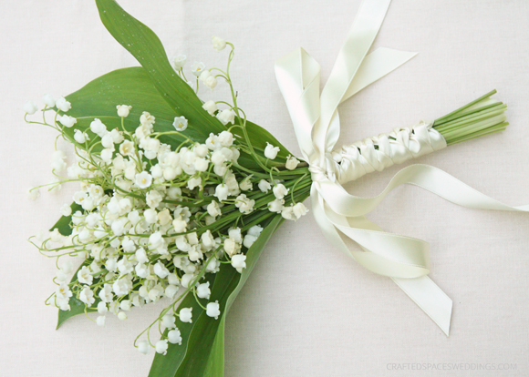 Lily Of The Valley Wedding Bouquet: Crafted Spaces Weddings: DIY Lily Of The Valley Bouquet