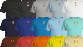 Layanan Jasa Custom T-shirt Anak Nyaman dan Berkualitas