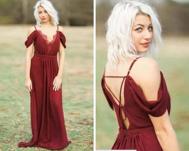 vestidos de festa com decote ombro a ombro