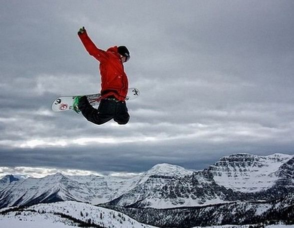 A Really Good Snowboarding Video at Lake Louise, Alberta, Canada