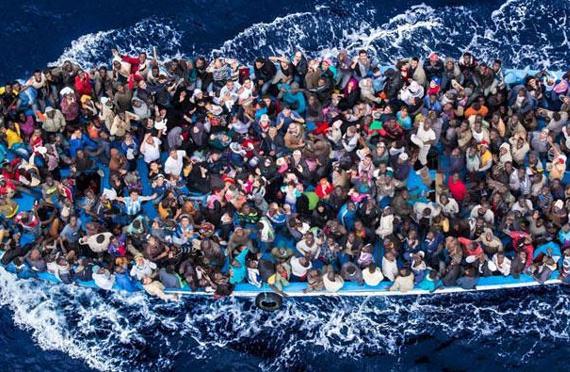 """توقيف أكثر من 160 مرشحا """"للهجرة غير الشرعية"""" بعرض البحر الأبيض المتوسط"""