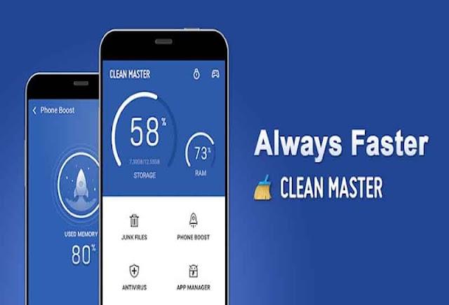 Clean Master Vip 7.3.1 Apk - Tăng tốc dọn dẹp Android