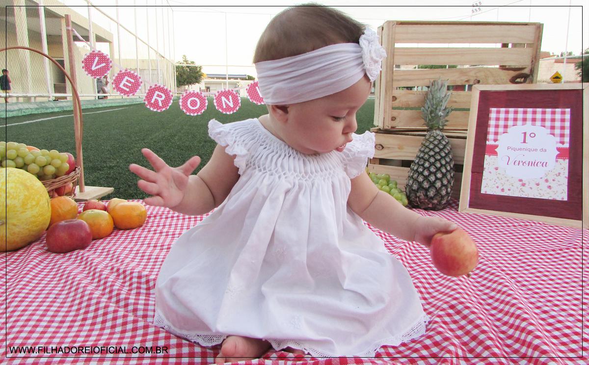 1° Pic Nic da Verônica - Ensaio Fotográfico de Bebê