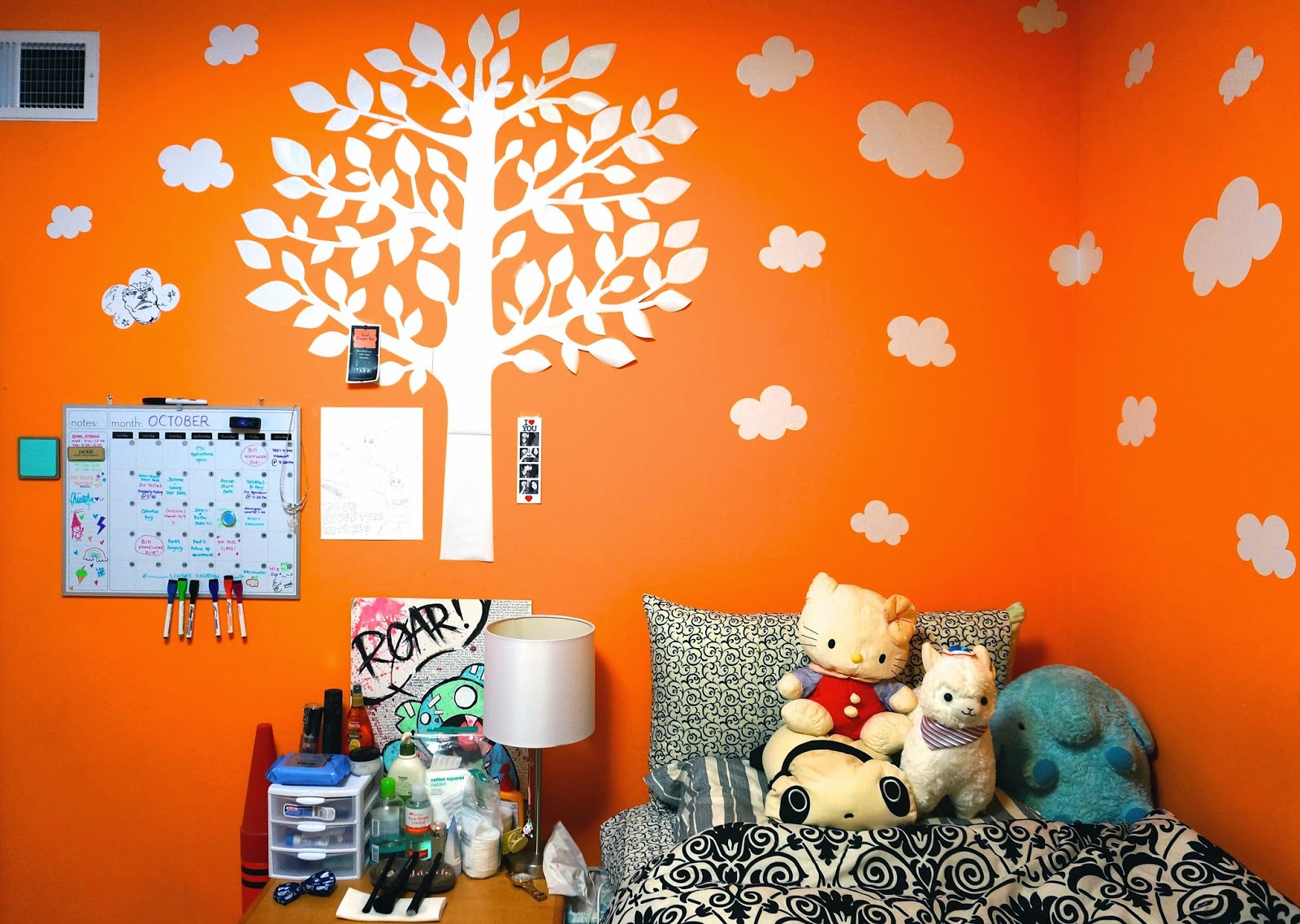 So Let Me Give You A Little Back Story As To How I Chose This Darn Bright Colored Orange Room Color Originally Wanted Paint My Red Because