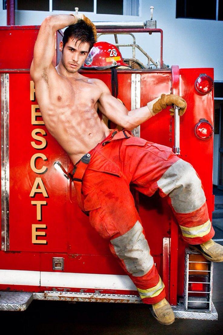 el torso del bombero