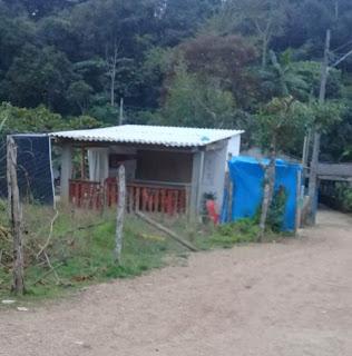 Crime ocorreu nas proximidades de um bar no bairro Onça Parda, em Sete Barras, SP — Foto: Divulgação