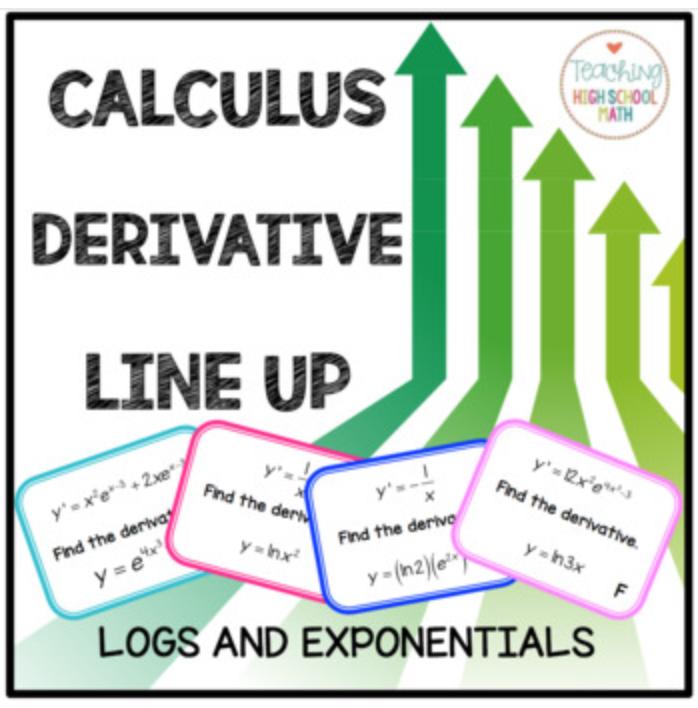 Teaching High School Math: Fun Calculus AP Activities