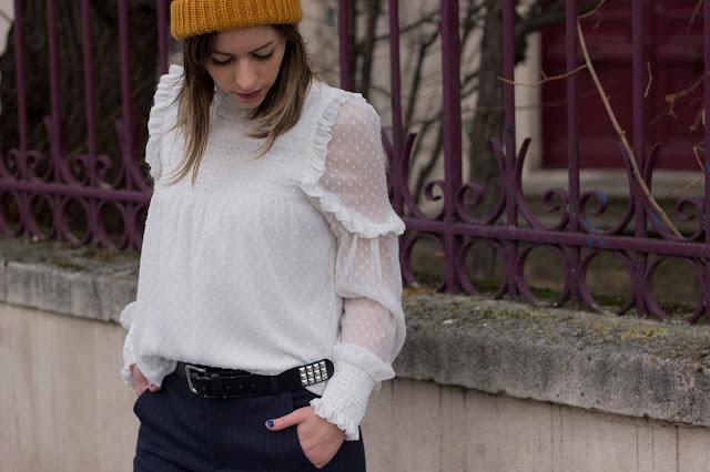 blouse-plumetis-zara-style-masculin-feminin