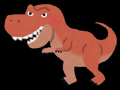 ティラノサウルスのイラスト(恐竜)