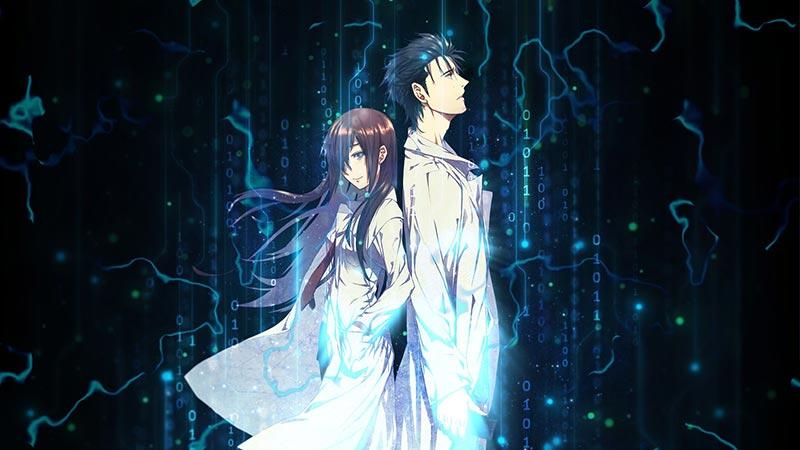 Okabe Rintarou & Makise Kurisu Steins Gate Wallpaper ...