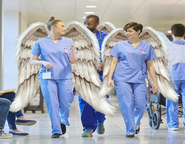 nurses are angels