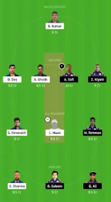 SIG vs IND Dream11 team prediction