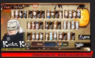 Boruto Senki All Character Next Generation Mod 2021