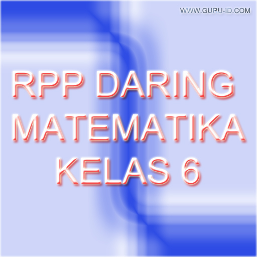 gambar rpp daring matematika kelas 6