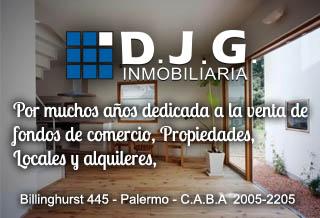 Venta Fondos De Comercios DJG Inmobiliaria