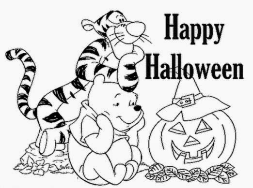Halloween Coloring Sheets For Kids  Bulbulk Com