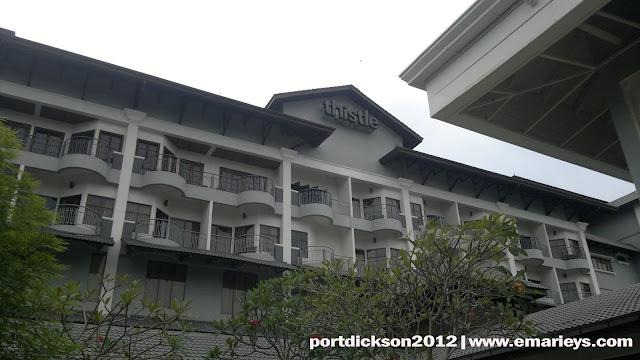 Dari bilik 567 ke bilik 562 | Thistle Resort Port Dickson