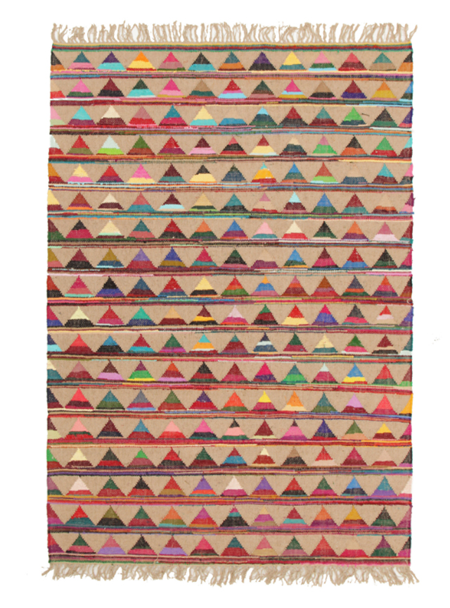 Eclectic home decor, home decorating, boho rug